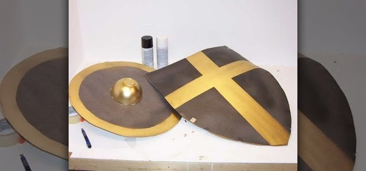How To Make A Cardboard Shield 171 Props Amp Sfx