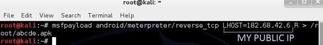 how to use kali to create linux image