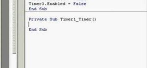 Create a simple animation with timers in Microsoft Visual Basic 6