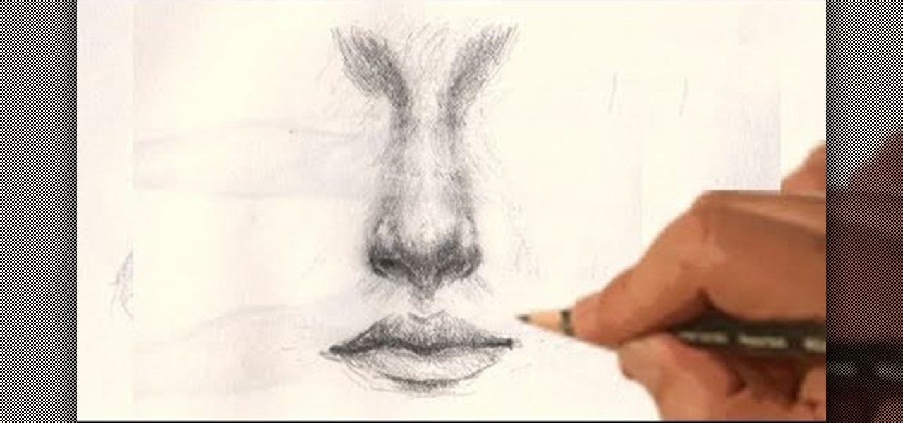 How to draw a realistic human nose drawing illustration wonderhowto