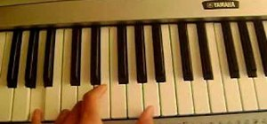 "Play the Demi Lovato song ""Catch Me"" on piano"