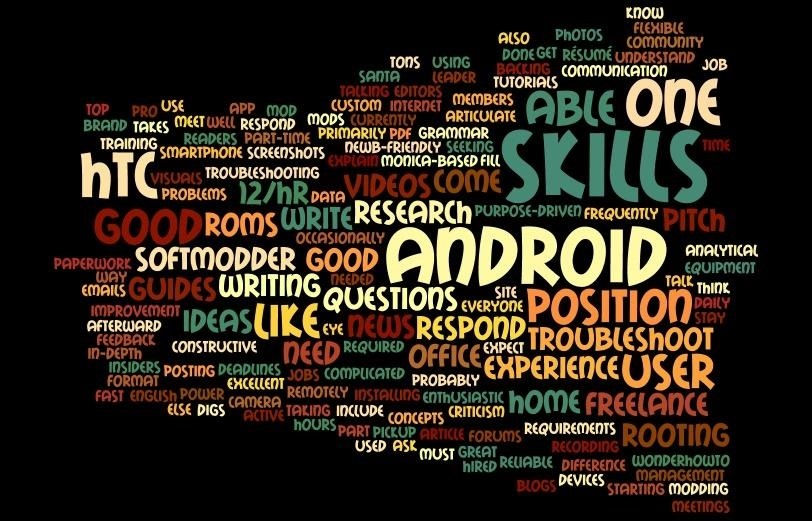 résumé hack use a word cloud to find the most important keywords in