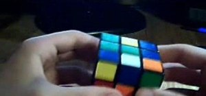 Solve the Rubik's Cube using the Fridrich Method