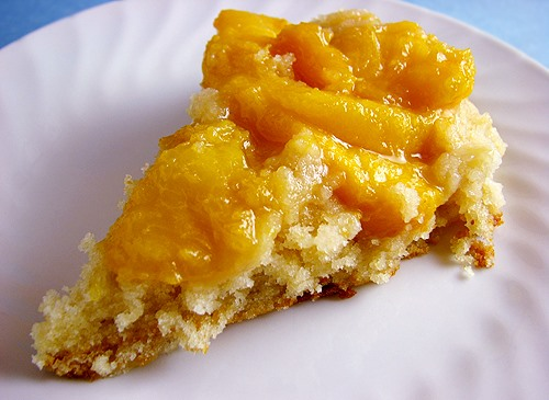 RECIPE: Peach Upside-Down Cake
