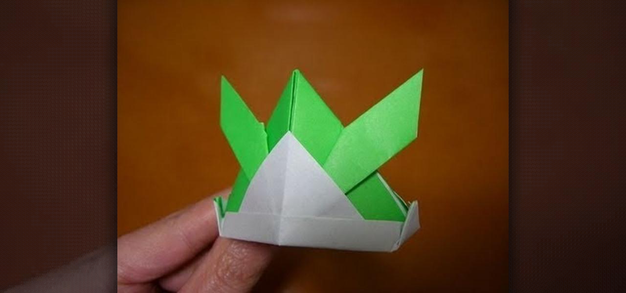 how to make a tsunokabuto samurai helmet out of origami