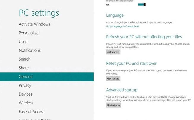 Cómo acceder al menú de arranque y la BIOS en Windows 8
