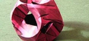 """Fold an origami """"Jump"""" model by Hans-Werner Guth"""