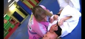 Do a kimura to collar choke against a gi wearing opponent in MMA