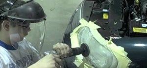 Repair auto headlights with a 3M Headlight Lens Restoration System