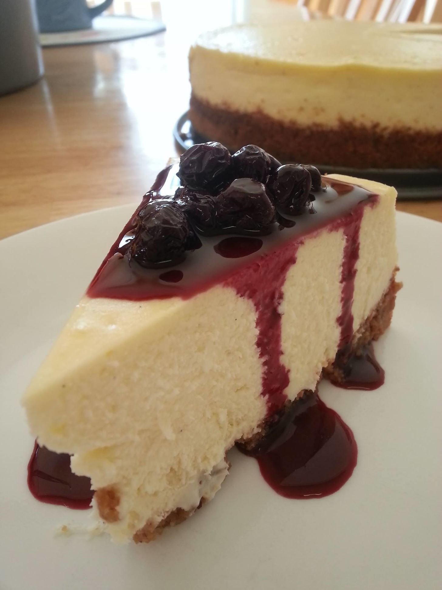 How to Make Blueberry Cheesecake