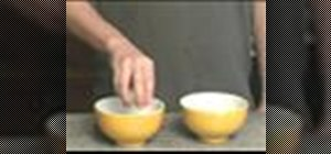 Separate egg whites fom yolks