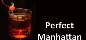 Make a Perfect Scotch Manhattan
