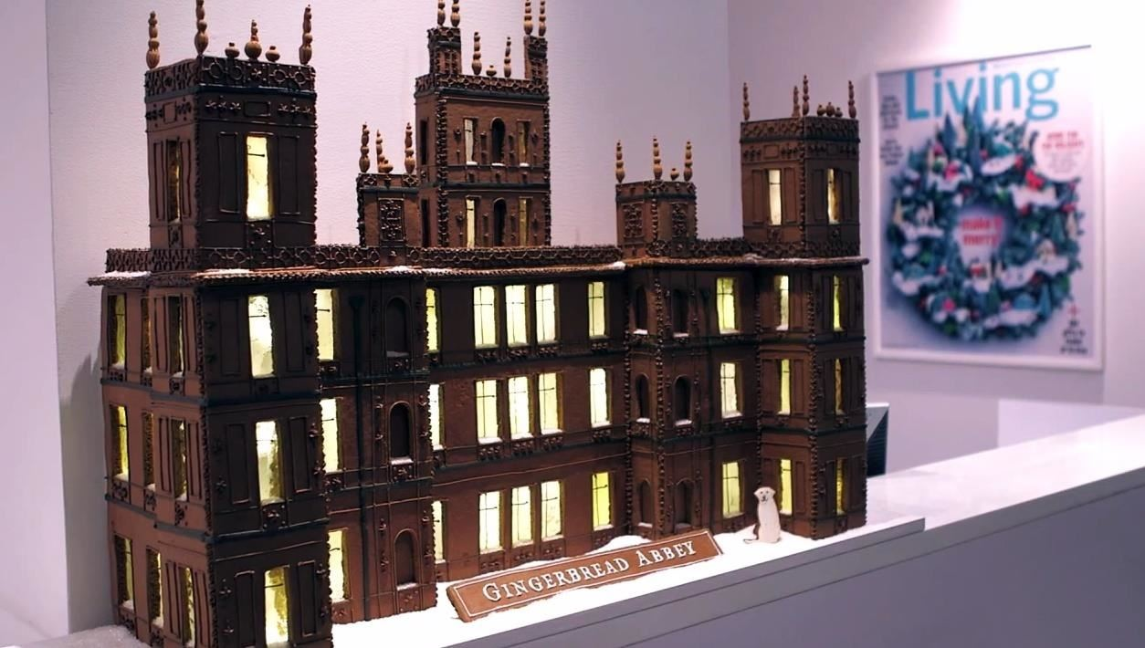 How to Build a Gingerbread Downton Abbey (With Martha Stewart)