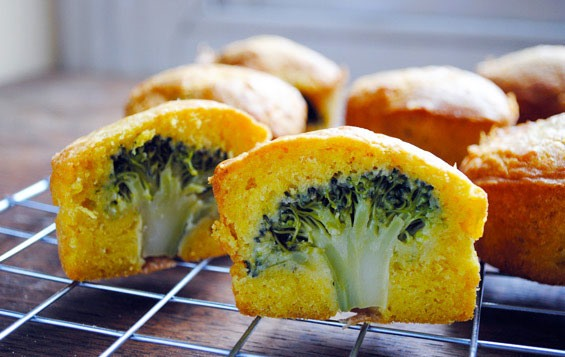 Would you eat this? Broccoli cupcakes