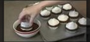 "Make ""high hat"" cupcakes with large mushroom tops"