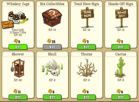 New crop, tree, animal, specials and more added 6/24