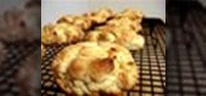 Prepare vegan scones