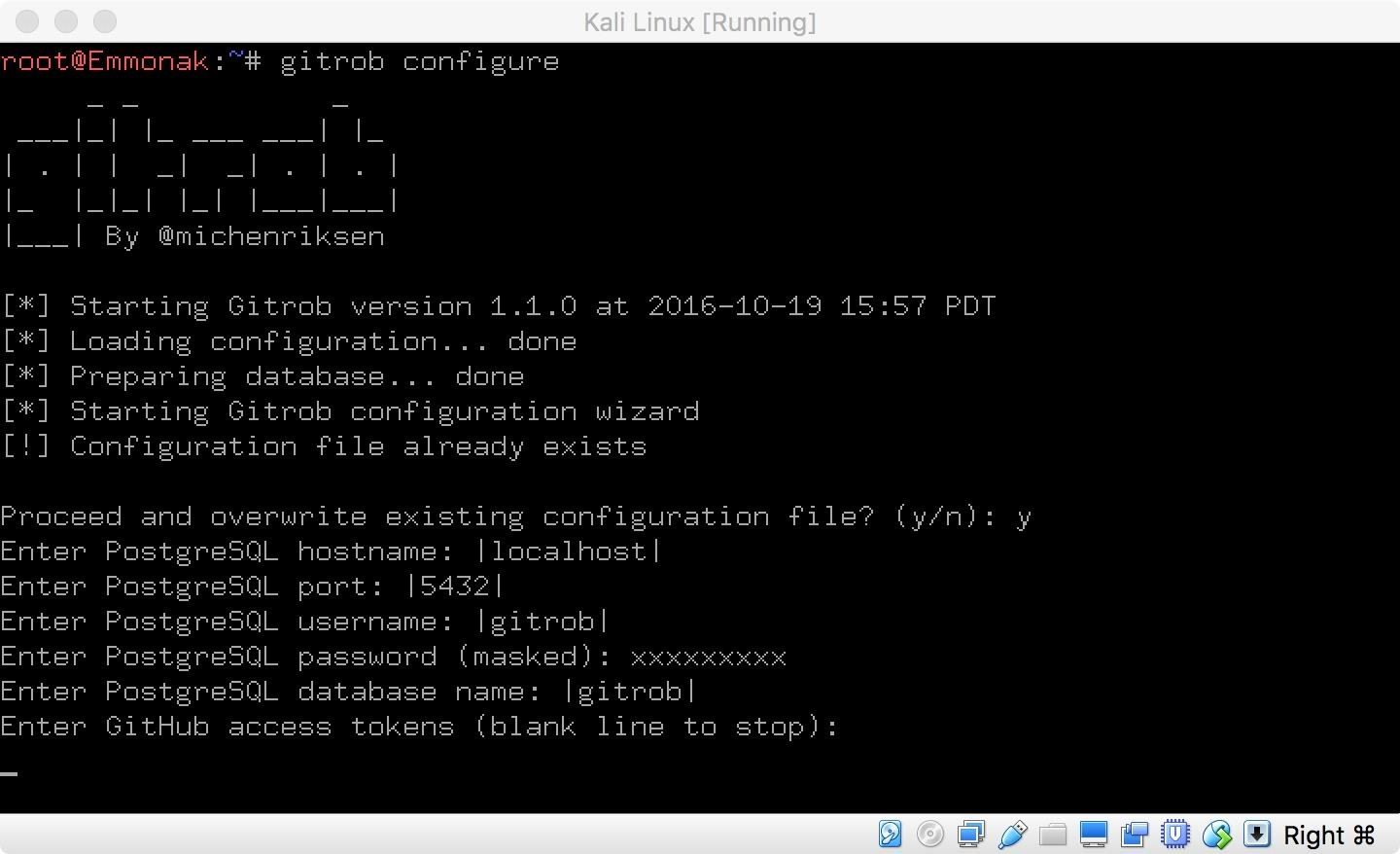 How to Install Gitrob on Kali Linux to Mine GitHub for Credentials