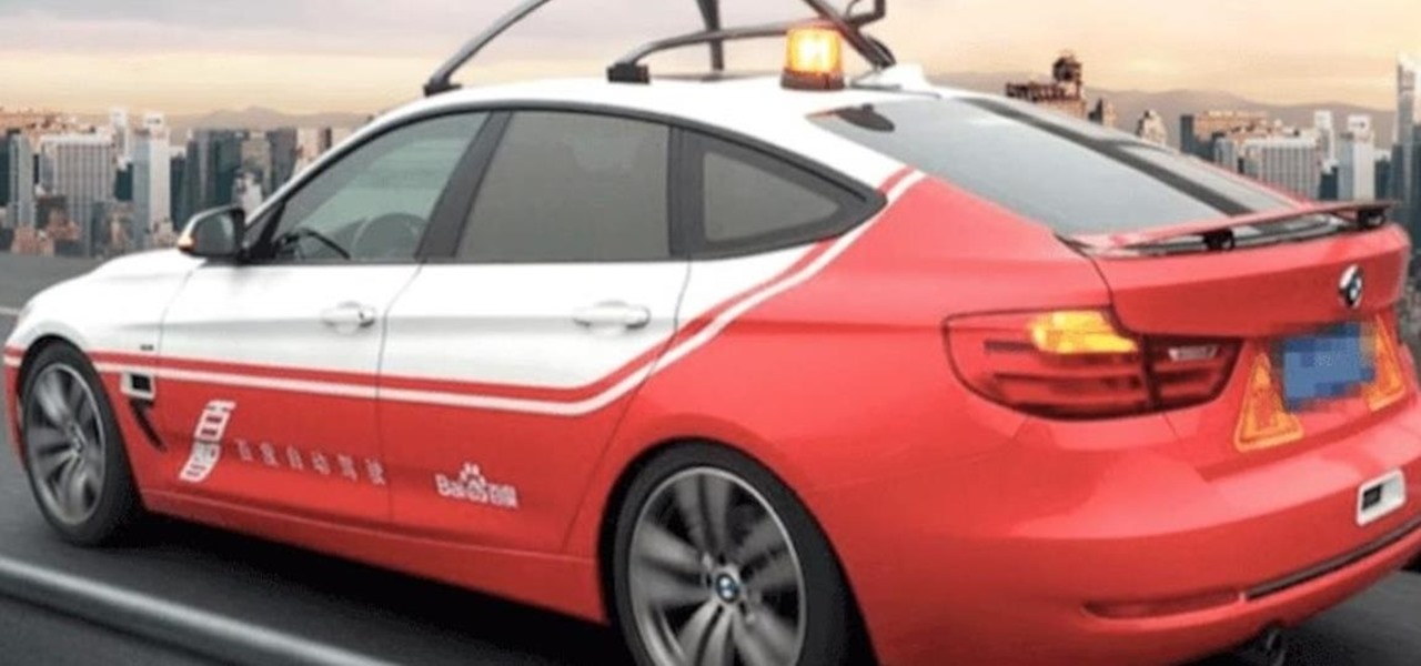 Baidu Reportedly Thinks It Can Lead the World in Driverless by 2020
