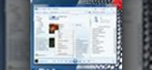 Use the basic functions of Windows Media Player 12 in Windows 7