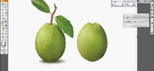 Using the gradient mesh tool in Adobe Illustrator to make a realistic guava