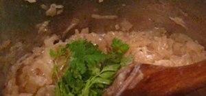 Makea secret French onion soup