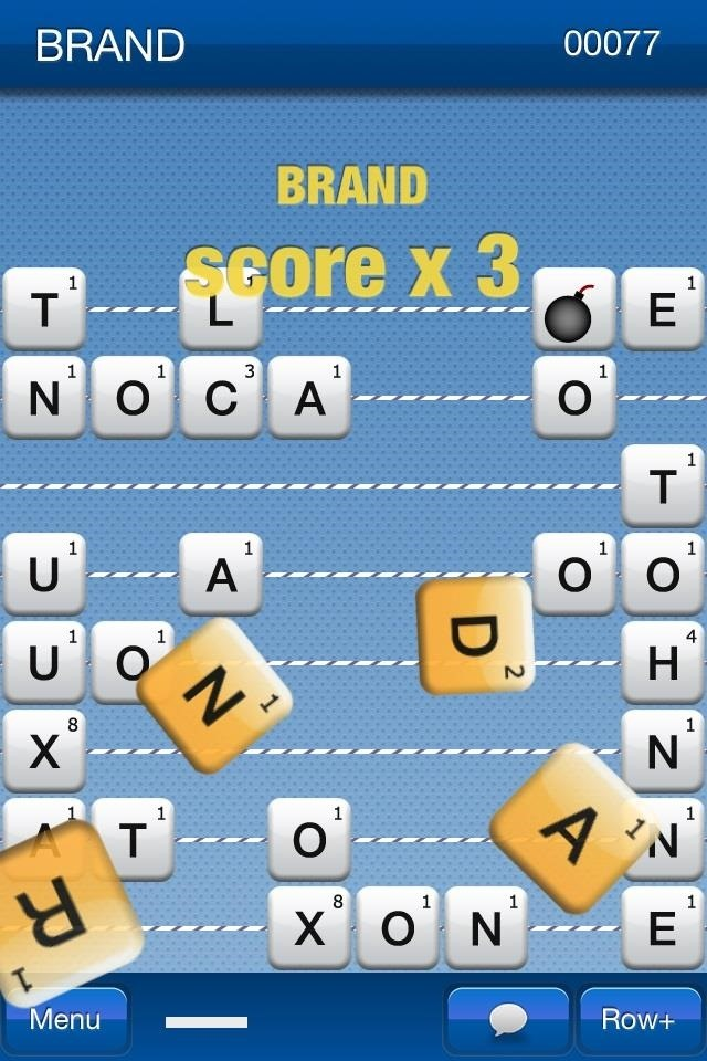 WordnRoll: A Great Puzzle Word Game for iPhone and iPad