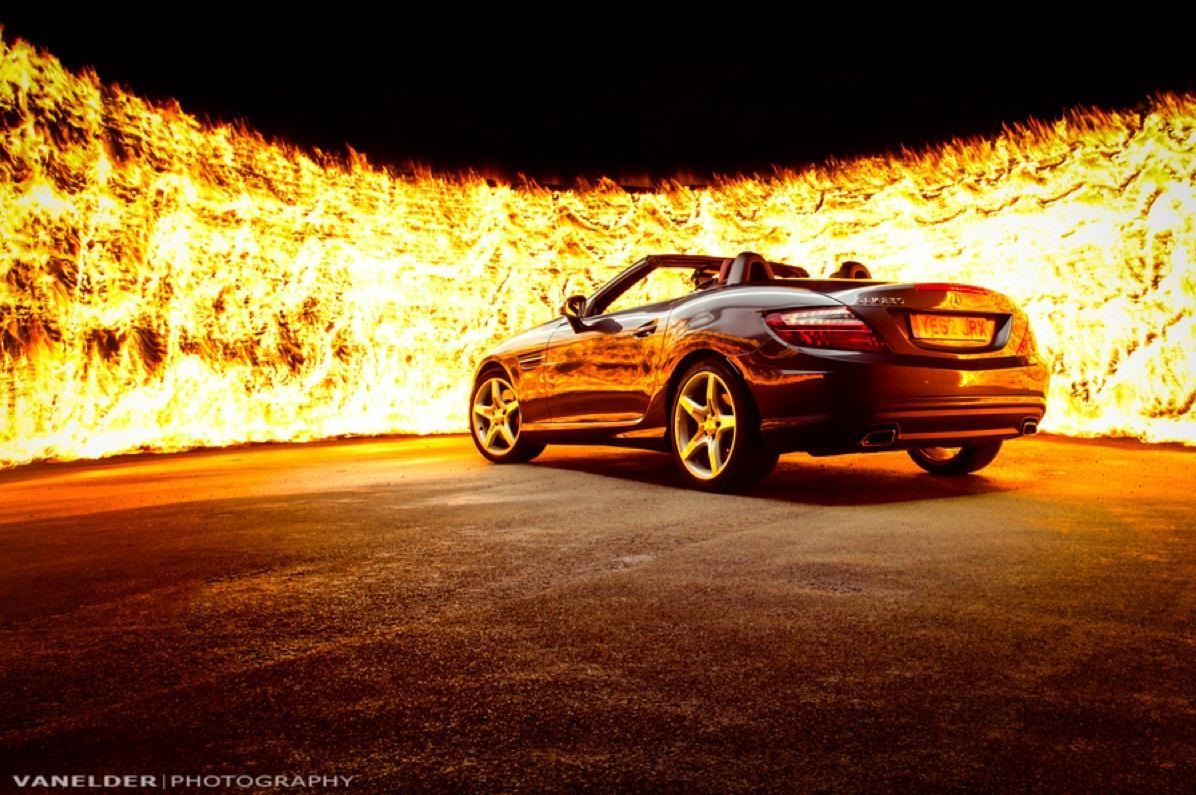 Light Painting with Fire: How to Create a Badass Wall of Flames!