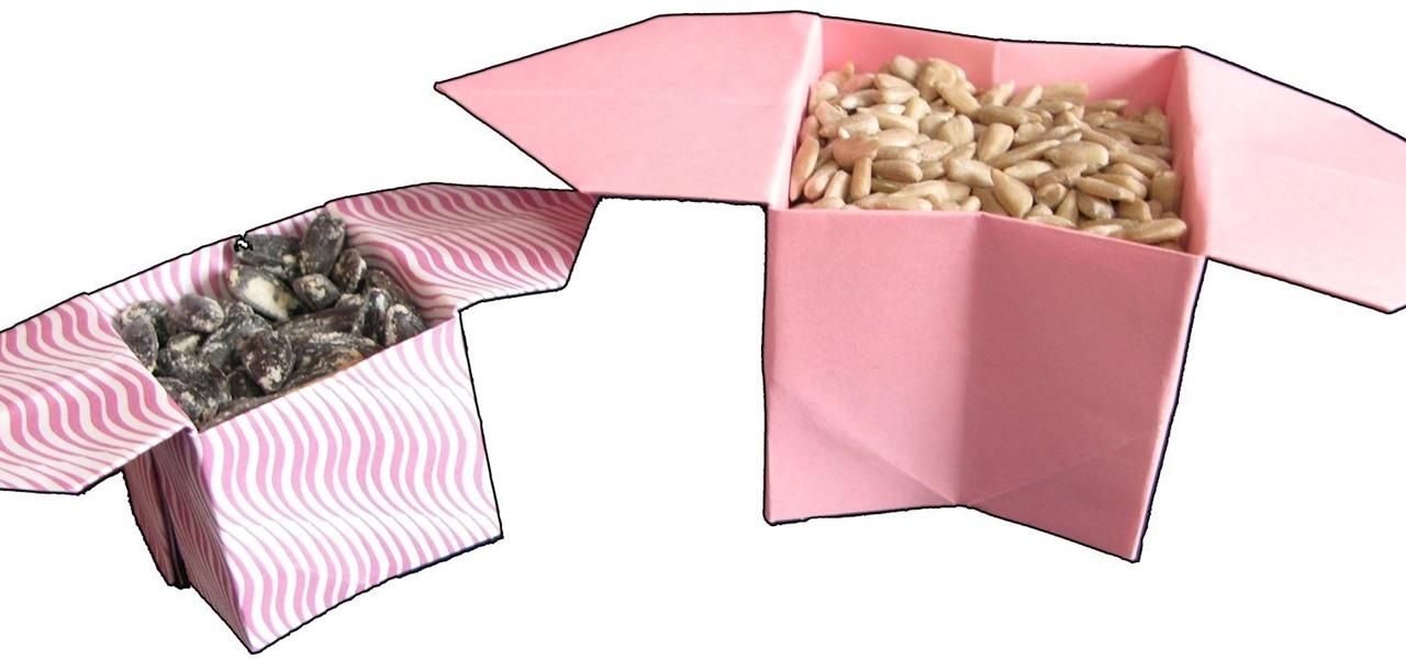 Make an Origami Sanbo Box