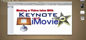 Create intertitles for iMovie projects in Keynote