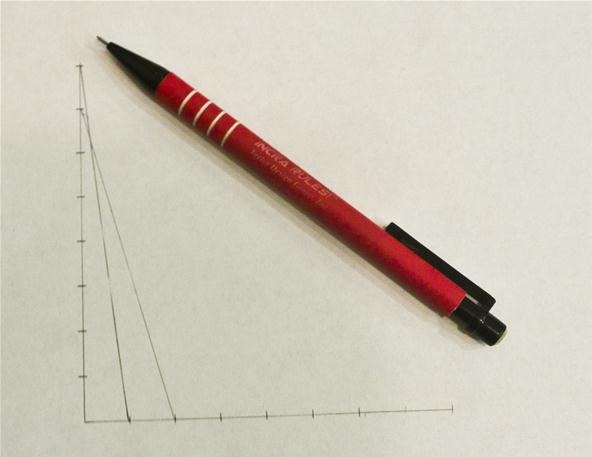 Straight Line Art Meaning : How to create parabolic curves using straight lines « math craft