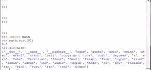 Get module information in Python