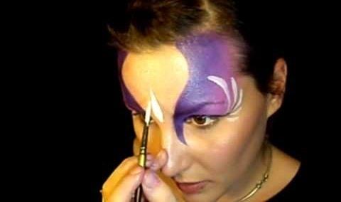 Do fairy princess or mermaid face paint
