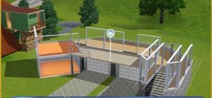 Construct a nice house for your sims to live in Sims 3