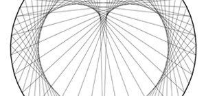Create Concentric Circles, Ellipses, Cardioids & More Using Straight Lines and a Circle