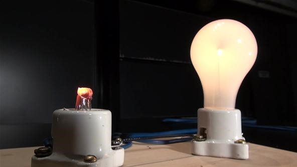 Make Insulating Glass Conductive with a Blowtorch!