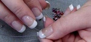 Make a three strand bracelet