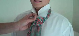 How to tie a necktie on someone else fashion wonderhowto how to tie a necktie on someone else ccuart Gallery