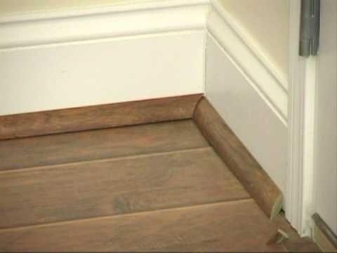 Laminate flooring install laminate flooring quarter round for Hardwood floors quarter round