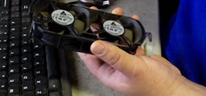 Do a 12-volt fan mod on your XBox 360