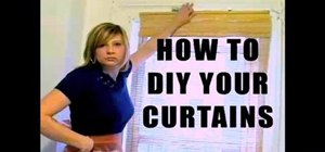 Make curtains