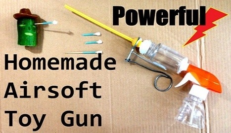 How to Make a Homemade Airsoft Dart Gun