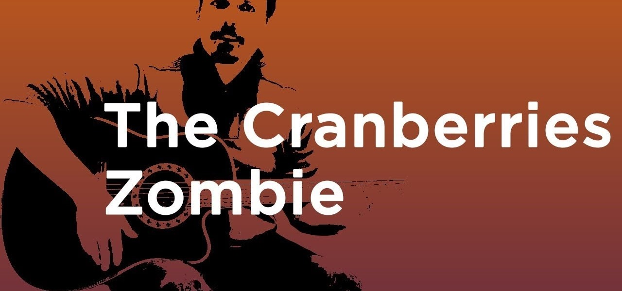 How To Play Zombie By The Cranberries On Guitar How To Videos