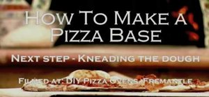 Make pizza dough base