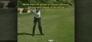 Do the tee in grip golf drill
