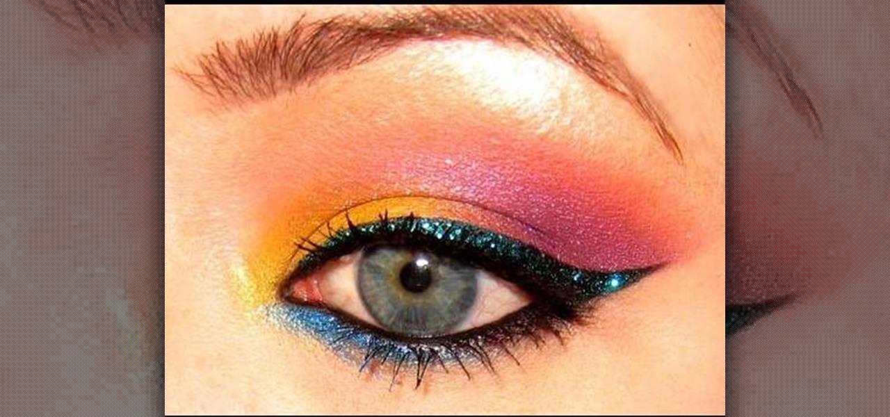 Eye makeup for