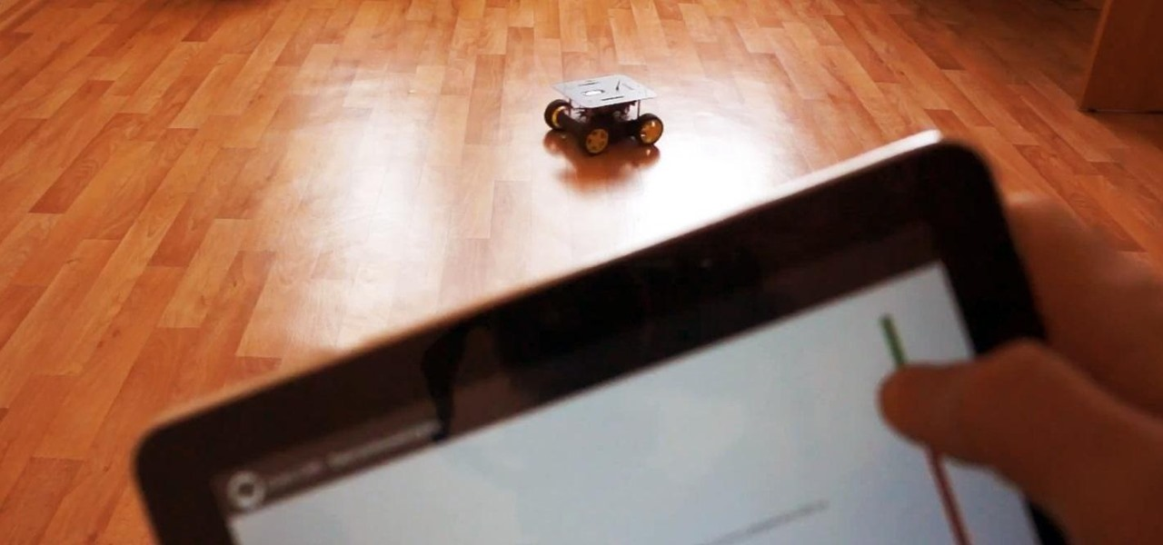 New to arduino start with this simple rc car controlled