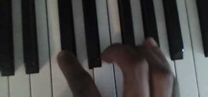 """Playthe song """"Nightmare"""" by Avenged Sevenfold on piano"""