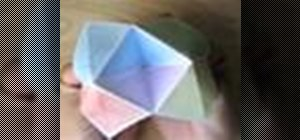 Make a customized origami fortune teller