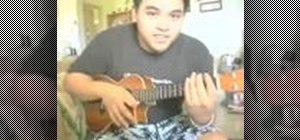 "Play Jack Johnson's ""Better Together"" on ukulele"